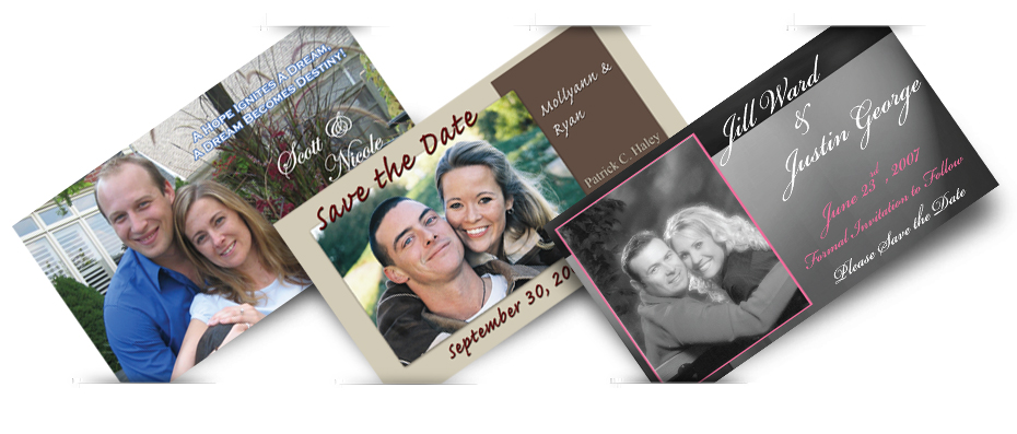 Car ribbon business card calendar save the date photo frame custom save the date and wedding magnets colourmoves